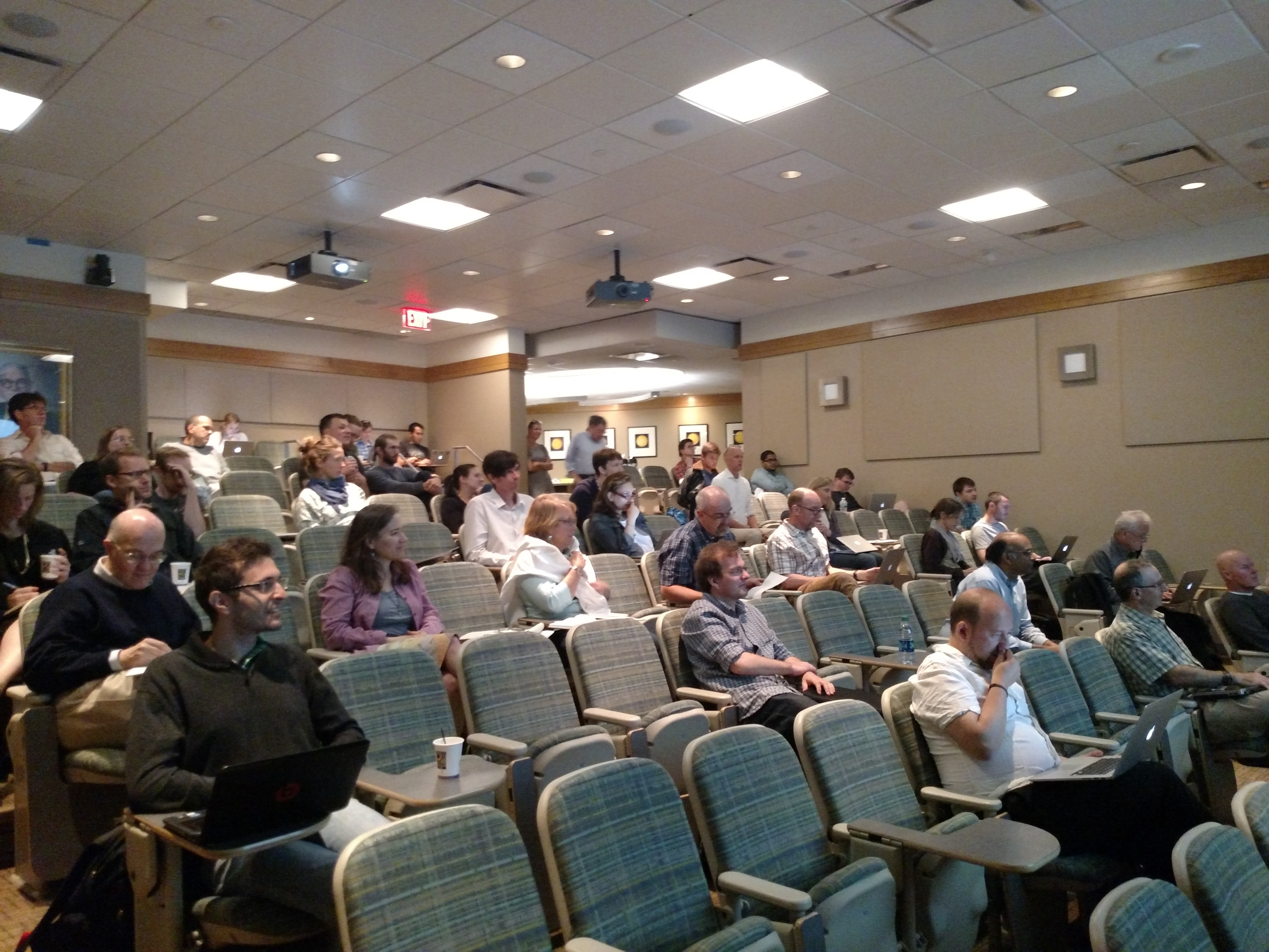 Attendees of the third annual meeting of the Ozone and Climate Project (Image: John Marshall)