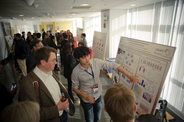 J-WAFS' 2015 grantees present their ongoing research at the poster session of the J-WAFS Food and Water Conference, held April 27-28 at MIT.  J-WAFS' 2015 grantees present their ongoing research at the poster session of the J-WAFS Food and Water Conference, held April 27-28 at MIT.