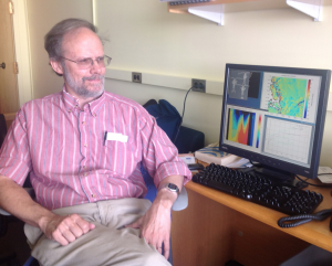 MIT Oceanographer Glenn Flierl. (Photo Courtesy of Helen Hill)