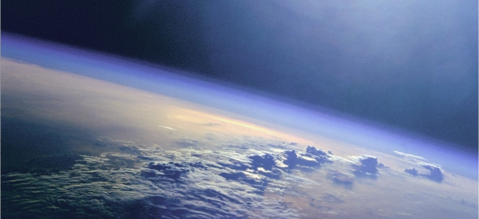 Earth's atmosphere from space - Image: NASA