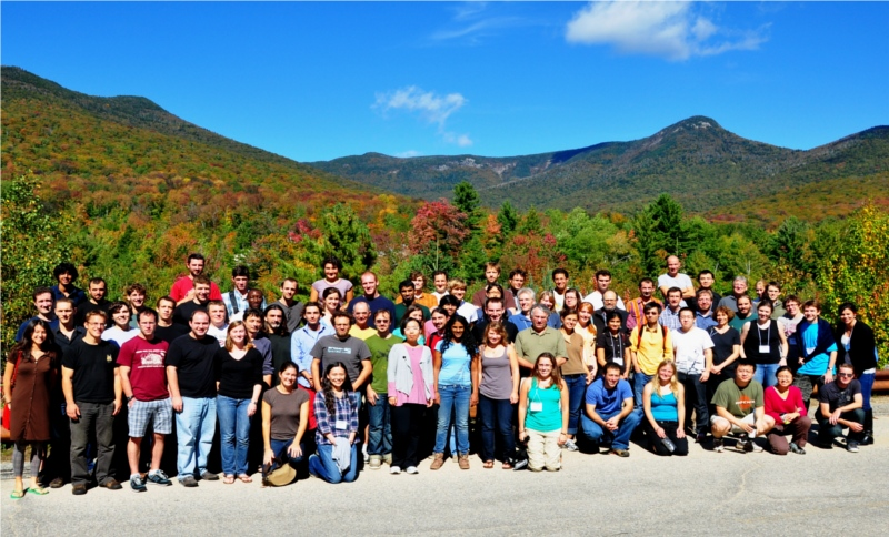 Group Photo, PAOC Retreat 2011 at the Mountain Club, NH - image credit: Allison Wing (click on the picture for a larger image)