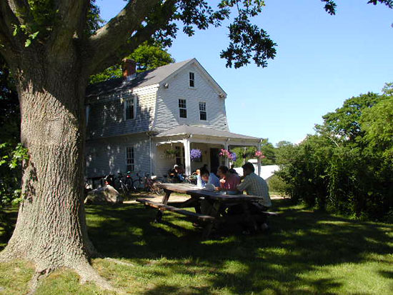 Walsh Cottage. Credit: WHOI